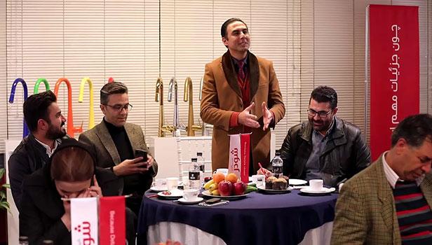 بازدید عاملین فروش شیراز از شو روم و کارخانه شودر