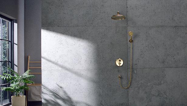 یک حمام لذتبخش با دوشهای دوستدار محیط زیست شودر