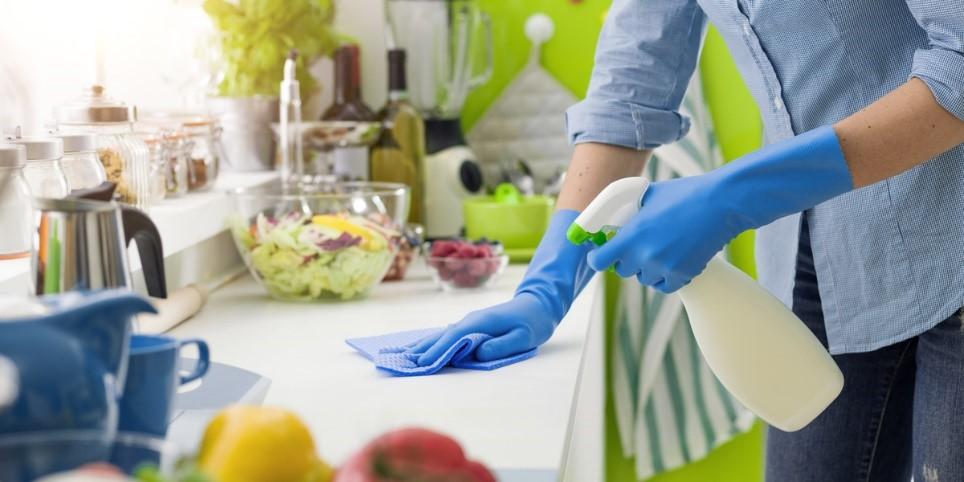 تمیز و مرتب کردن  آشپزخانه  در 6 گام سریع